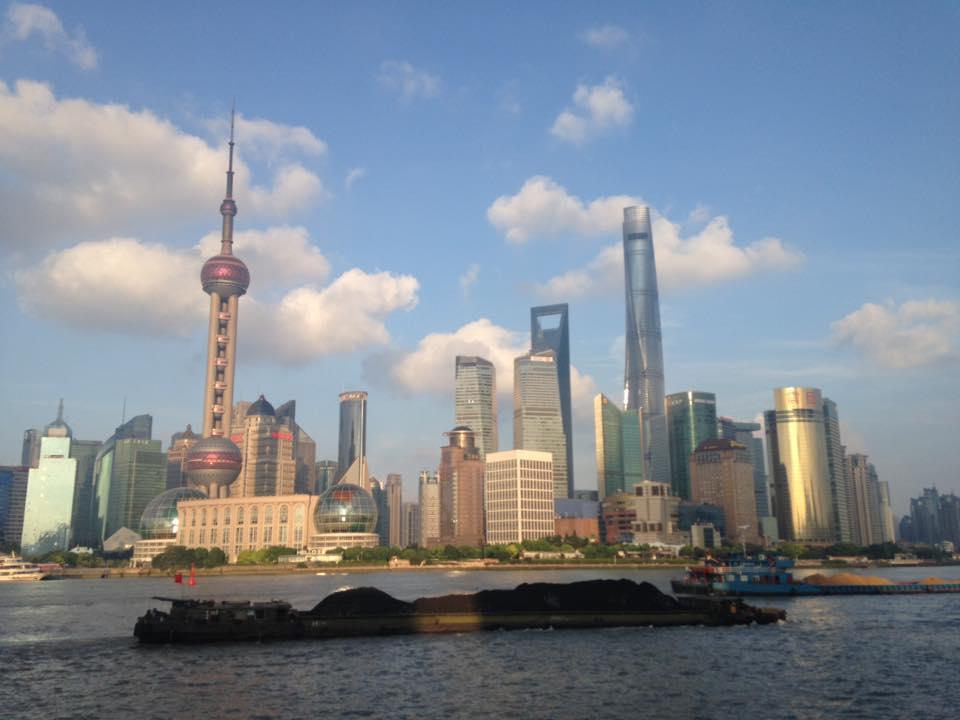 Shanghai Skyline Daylight
