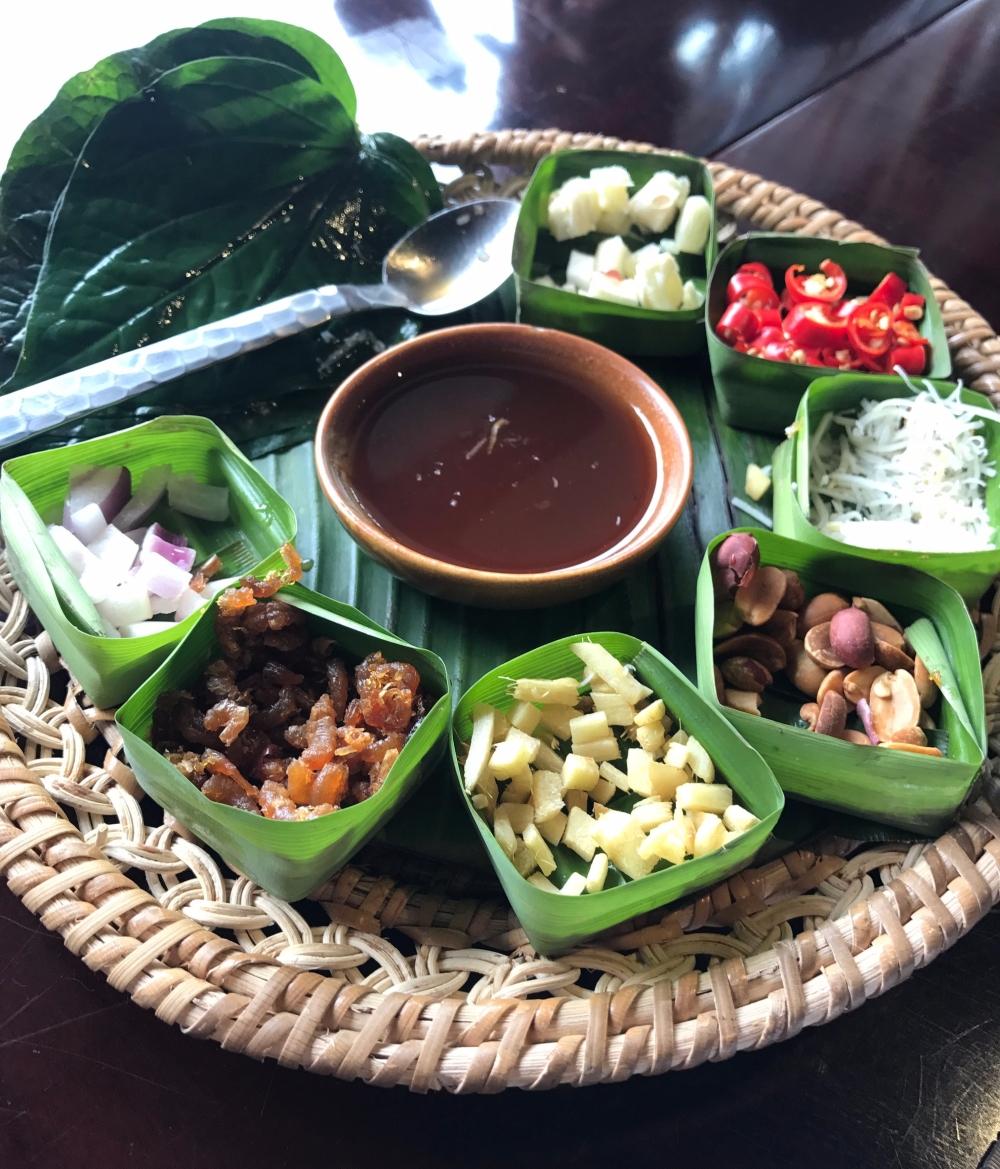Complimentary starter at Sawasdee Thai Restaurant