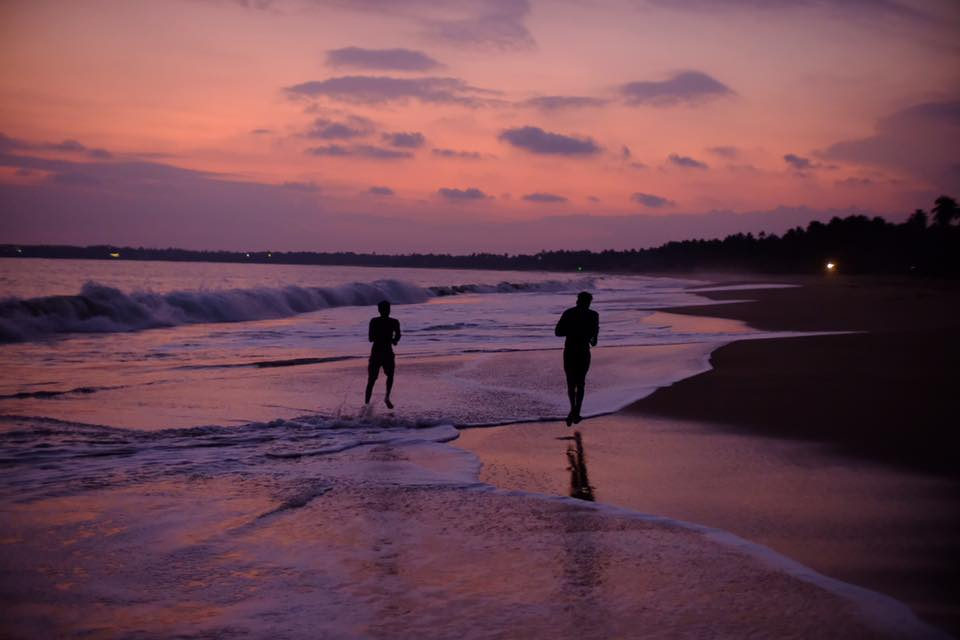 Sunset at Tangalle Beach