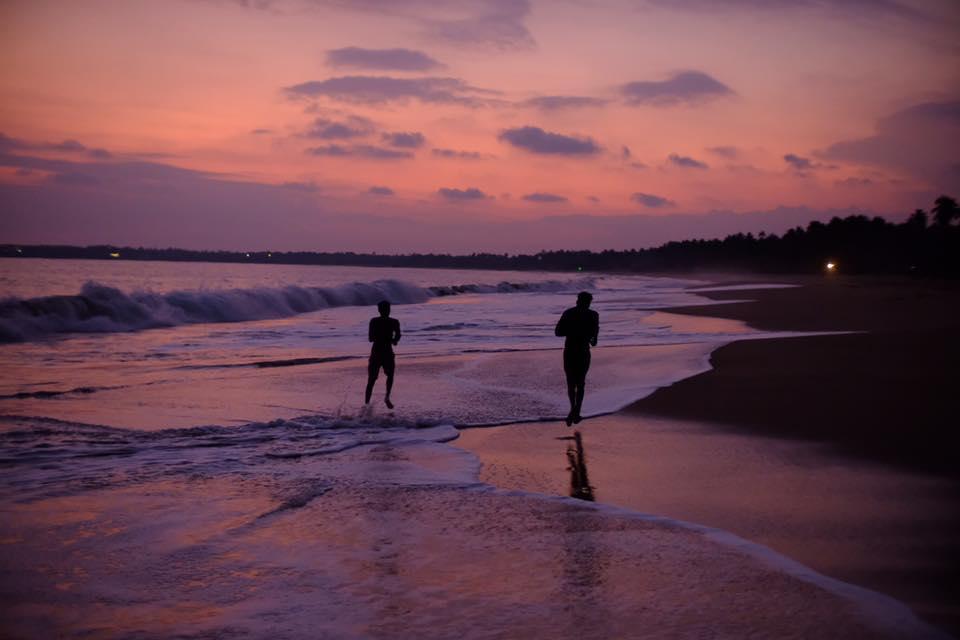 Sunset at Tangalle Beach