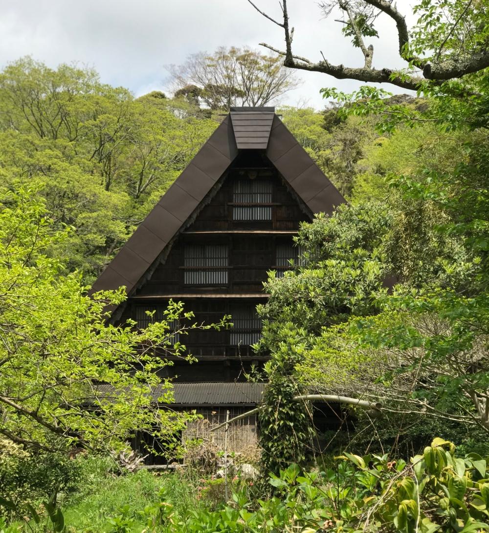 Gassho-style House in Shimoda