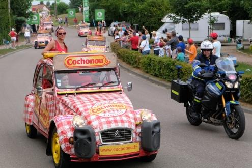 Tour de France à Mervans, Stage 7, Belfort to Chalon sur Saône