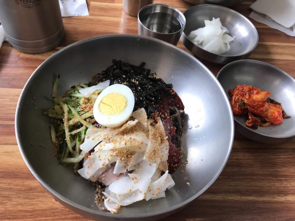 Korean Bibim Dry Noodles